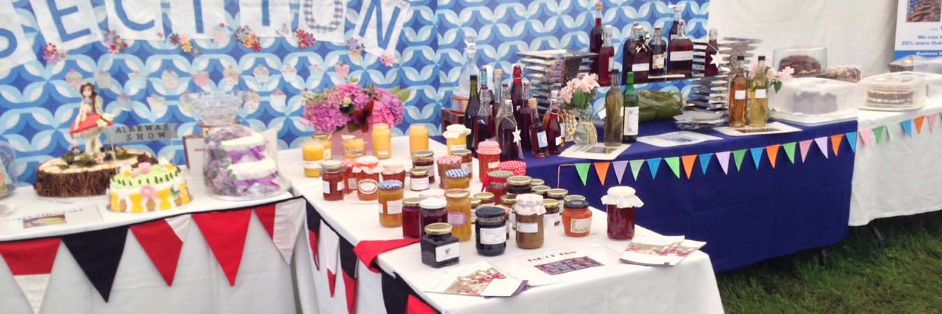 The Alrewas Show Cookery page banner image