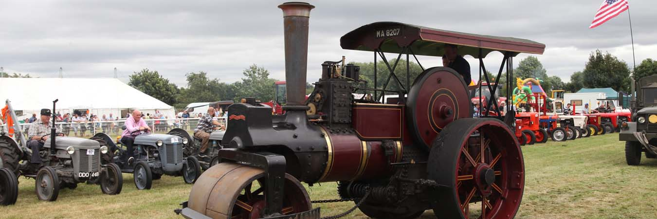The Alrewas Show Steam Engines page banner image