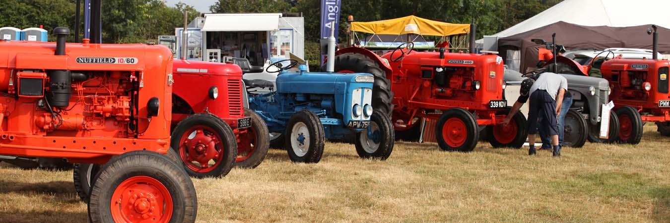The Alrewas Show Vintage Tractors page banner image